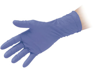 Powder Free Nitrile Gloves High Thickness Reflexx 99