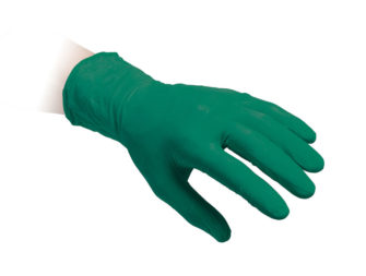 Green Powder Free Nitrile Gloves Reflexx 68