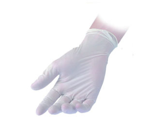 Powder Free Vinyl Gloves Stretch Reflexx 38