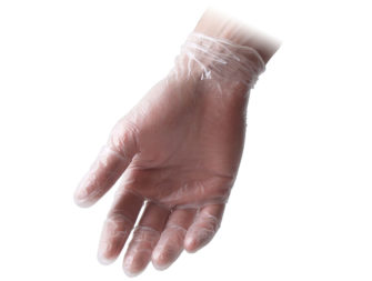 Powder Free Vinyl Gloves Feather Flexx Pf
