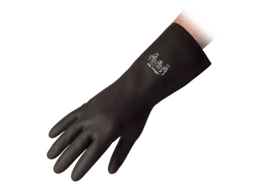 Flocklined Neoprene Rubber Reusable Gloves Reflexx 101