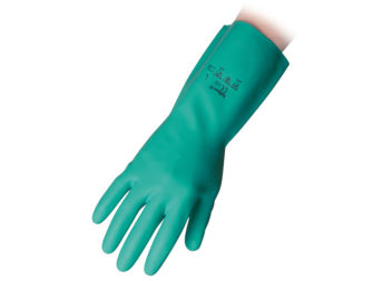 Flocklined Nitrile Reusable Gloves Reflexx 97