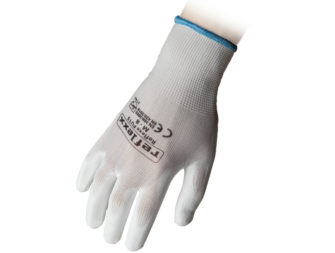 Supported Polyurethane Gloves Reflexx PU15 White