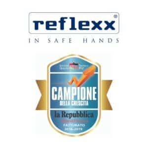 Reflexx campione della crescita