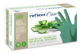 reflexx gloves aloe guanti