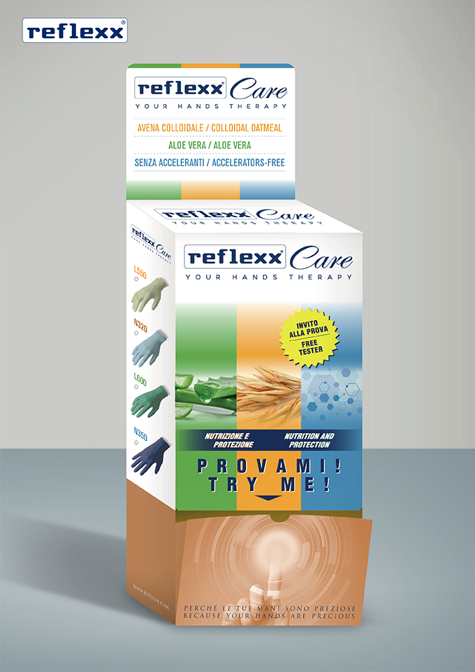 Reflexx care display