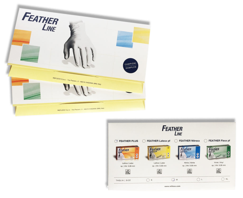 Sample pack Feather