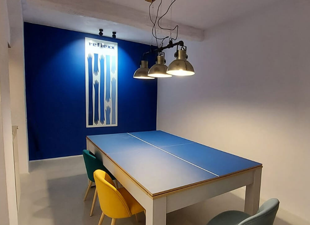 Reflexx neues Büro in Genua